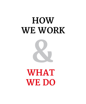 How We Work & What We Do