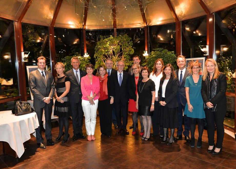 Celebrations to mark the 10th anniversary  of Monaco's membership of the Council of Europe
