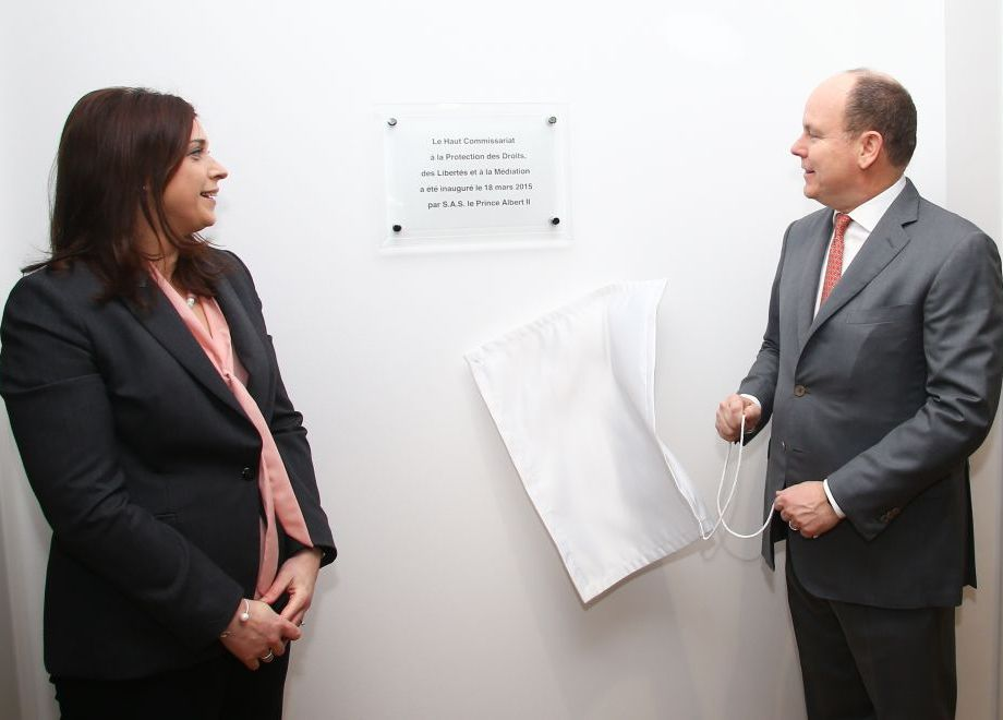 Official inauguration, by H.S.H. Prince Albert II, of the Office of the Monegasque High Commissioner