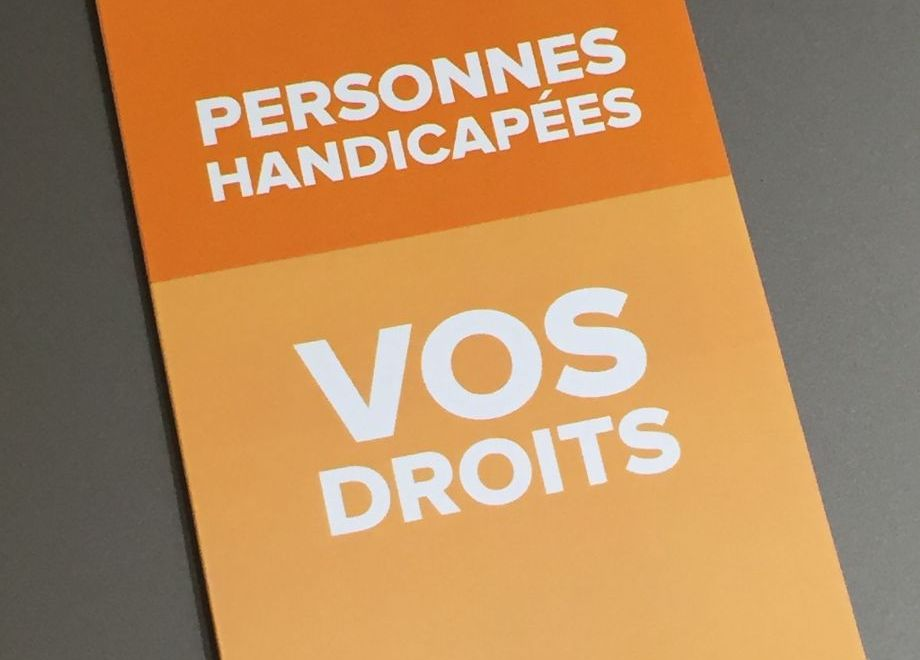 Fascicule d'information à l'attention des personnes en situation de handicap